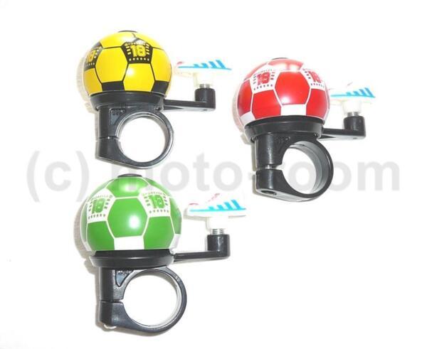 Звънец мини RideFit Football 35mm Al различни цветове