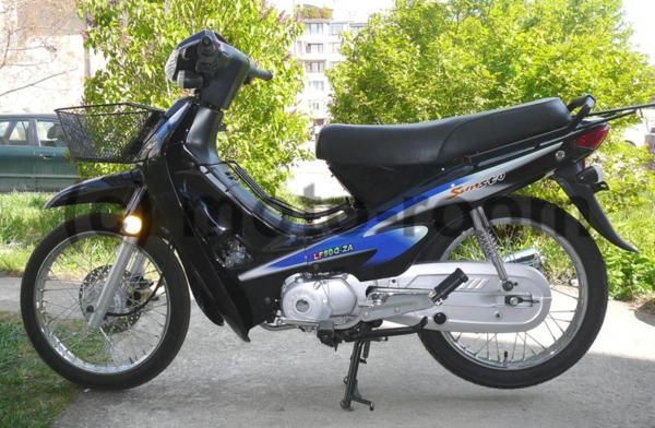Мотопед Lifan LF50Q-2A, 4-тактов, 50/80 cc, 4 скорости, автоматичен съединител