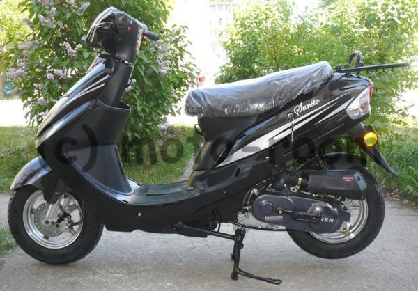"Мотопед/скутер Sunsto Znen, 4-тактов, 50/80 cc, 10"" джанти"