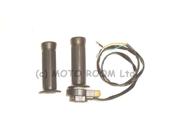 Ръкохватка за газ комплект (масур) - за веломотор