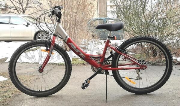 "Велосипед/колело 24"" RST Smart, стоманена рамка, 18 скорости Shimano, подновен"