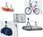 Приспособление (стойка, лифт) за повдигане и съхранение на велосипед на таван