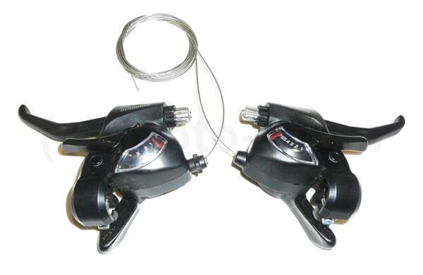 Команди с ръкохватки Shimano ST-EF41 - 3х7