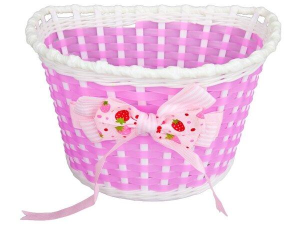 """Кошница детска RideFIT 12"""" розова пластмаса"""