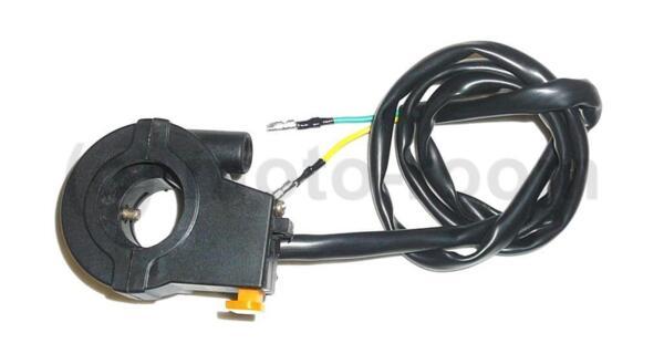Конзола за ръкохватка газ за велодвигател с изключвател