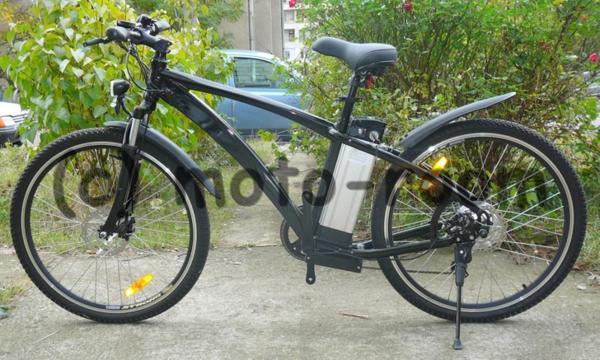 """Велосипед с електромотор 26"""" - 250W, 36V с алуминиева рамка"""
