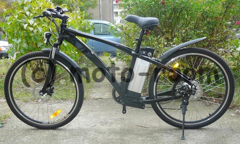 """ca8a1b9c92e Велосипед с електромотор 26"""" - 250W, 36V с алуминиева рамка"""