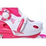 Детски регулируеми ролери FLOWER BABY SKATE SET