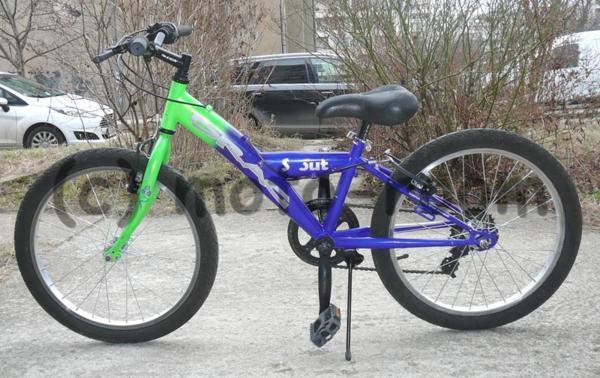 "Велосипед 20"" DRAG Scout, стоманена рамка, 6 скорости Shimano - употребяван"