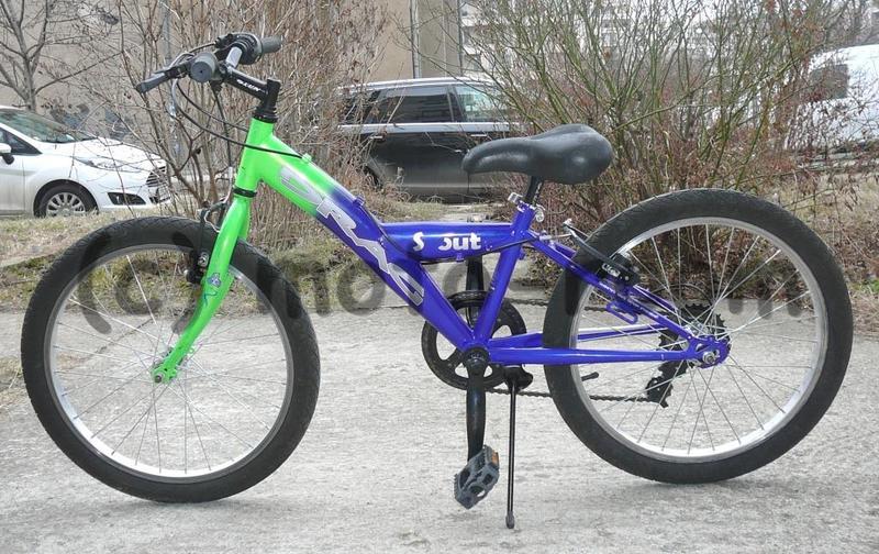 "12fbc01f72f Велосипед 20"" DRAG Scout, стоманена рамка, 6 скорости Shimano - употребяван"