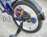 """Детско колело 16"""" PASSATI NINJA, стоманена рамка, контра, синьо"""