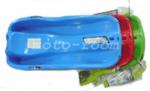 Детска пластмасова шейна Race със спирачки и въженце за теглене