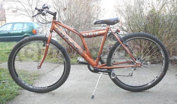 """Велосипед/колело 26"""" DRAG D64, твърда рамка, 18 скорости"""