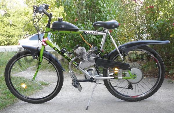 Велосипед с бензинов двигател (мотобайк) Drag Hacker