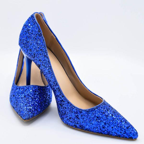 Обувки Сексът и градът сини