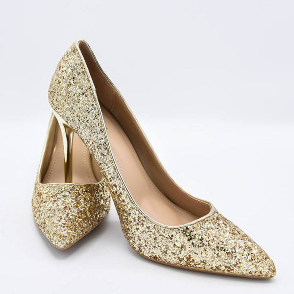 Обувки Сексът и градът златисти