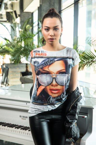 Дамска тениска ''Париж''