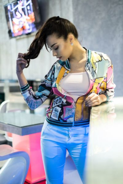 Дамско яке ''Цветна дъга''