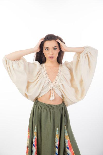 Дамска блуза BOOHO STYLE