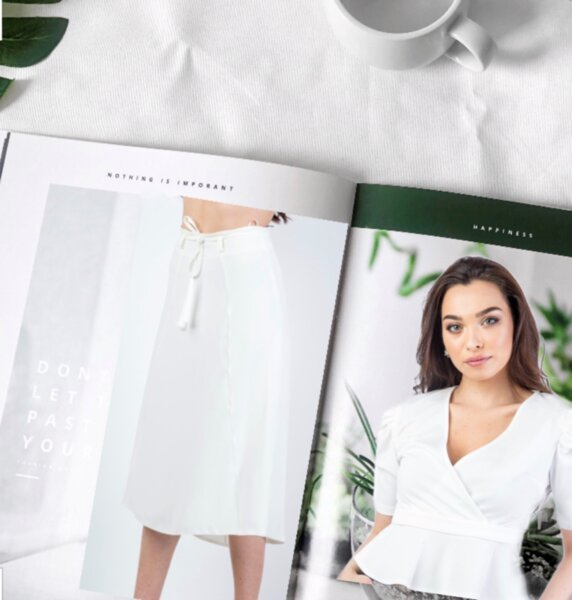 Дамска блуза BLACK AND WHITE 01