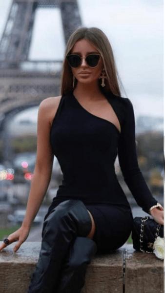 Дамска къса рокля PANTERA