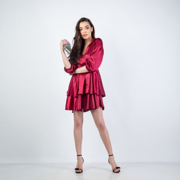Дамска къса рокля QUEEN - 01