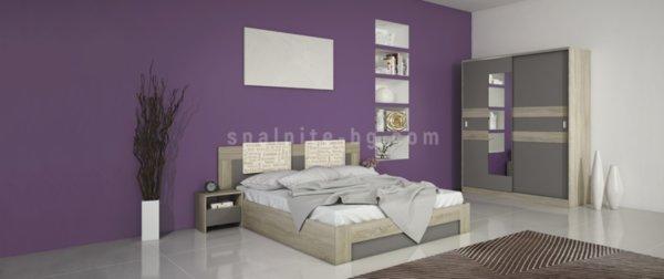 Спален комплект City 7024