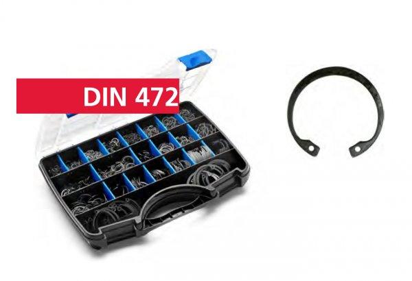 DIN 472 BL Зегерка за отвор I 8-I 52/1900бр/пл кутия