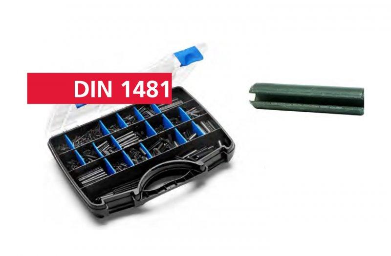 DIN 1481 BL Щифт насечен 2,0х10-10x40/2325бр/пл кутия