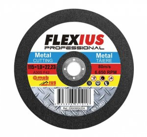 DA-TM8 Диск рязане 115х1.0х22.23/метал/-Ius&Mob