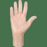 Ръкавици винил MERCATOR® simple vinyl (PF), прозрачни, 100бр. в кутия