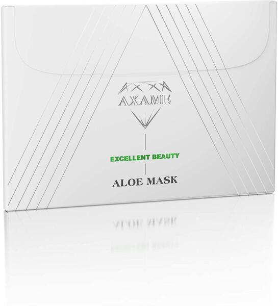 AXAME - Маска за лице - овлажняваща с алое вера и витамини А, С, Е
