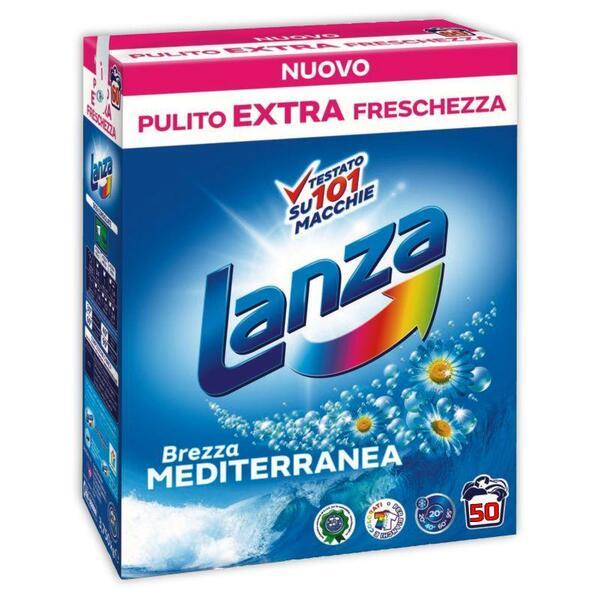 Прах за пране Lanza Brezza Mediterranea 50 пр