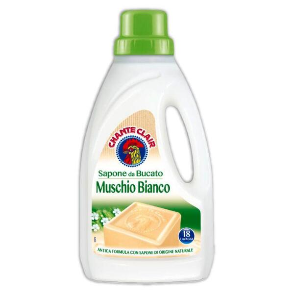 Сапун за пране CHANTE CLAIR Muschio Bianco 18пр