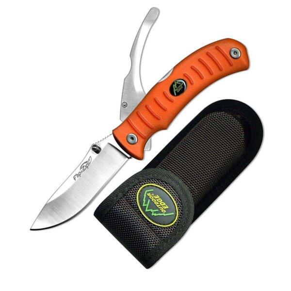 Ловен Сгъваем нож с две остриета OUTDOOR EDGE Flip N Zip Double - FZB20