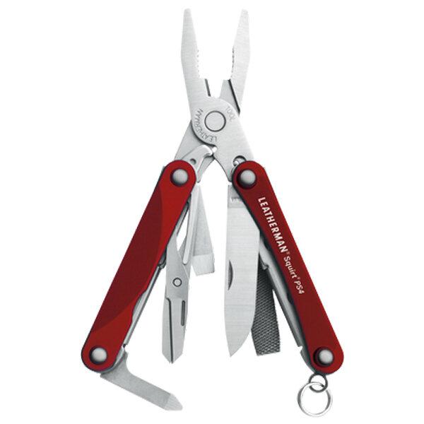 Многофункционален инструмент Leatherman Squirt PS4 Red