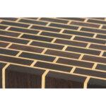 End grain дъска за рязане Boaz с дизайн наподобяващ тухлена стена Ash & Koto Kitchen Board