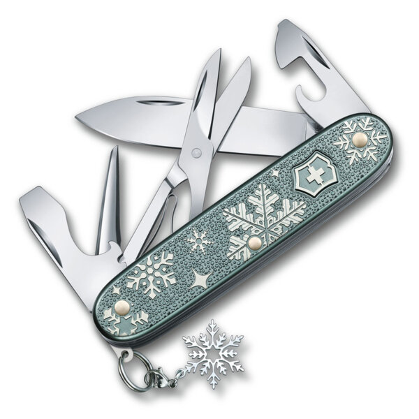 Швейцарски джобен нож Victorinox Pioneer X Winter Magic Special Edition 2020