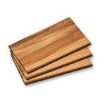 Комплект от 3 дъски за рязане и сервиране от Акация KESPER Германия