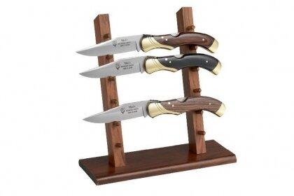 Дървена поставка за ножове Muela - EX-6, за 6 ножа