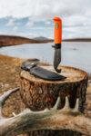 Ловен нож Marttiini - Skinner, специално покритие Martef, оранжев