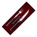 Комплект прибори Kai (нож, вилица и подложка)