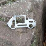 Мулти инструмент Kikkerland - Survival Tool, кола