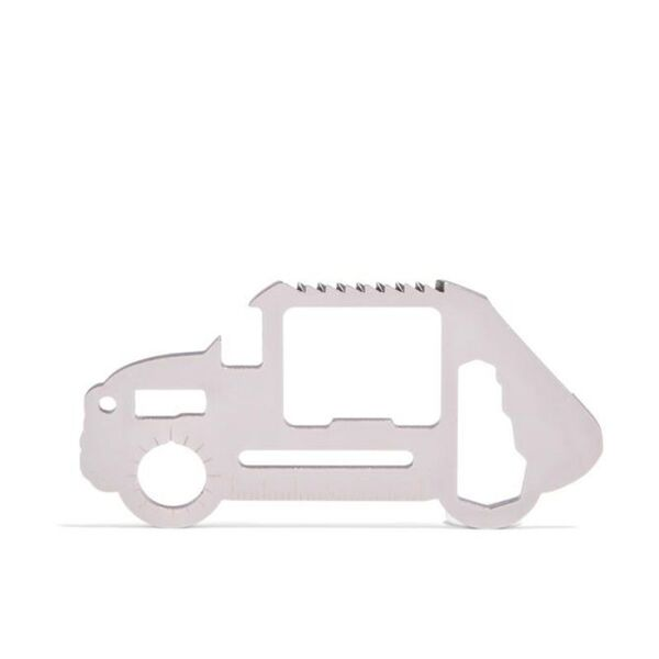 Мултифункционален инструмент Kikkerland - Survival Tool, кола