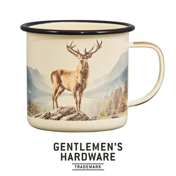 Емайлирано канче Gentlemen's Hardware - Елен, бежово