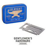Мултифункционален инструмент Gentlemen's Hardware - The Right Tool, тип кредитна карта