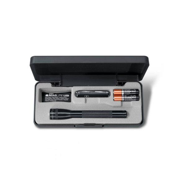 Комплект нож Victorinox + фенер MiniMagLite AAA LED