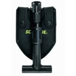 Сгъваема лопата Schrade - SCHSH1, черна
