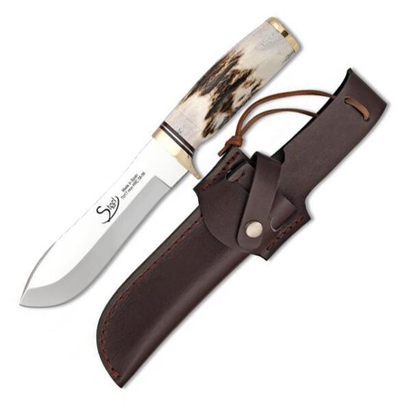 Ловен нож Steel 440 - 31911, дръжка от еленов рог