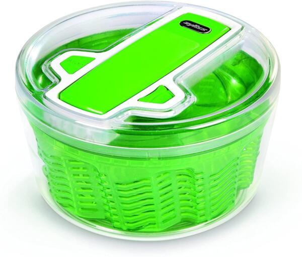Центрофуга за салата Zyliss - 940015, 20 см диаметър, зелена